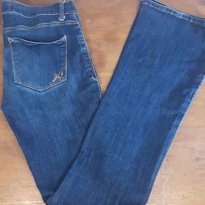 Express Jeans | Mid-rise Slim Flair | 6R